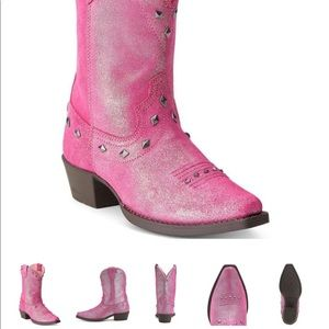 ARIAT Pink dazzle boots